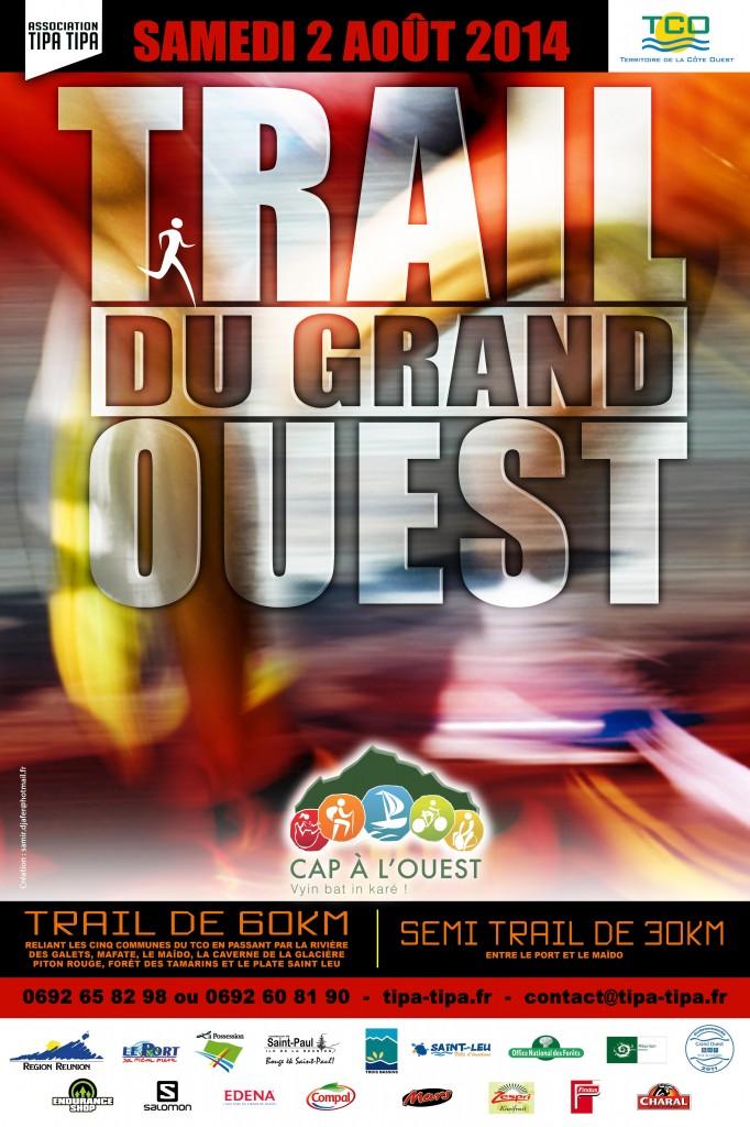 Affiche Trail du Grand Ouest 2014