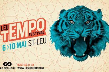 Affiche Leu Tempo Festival Saint Leu