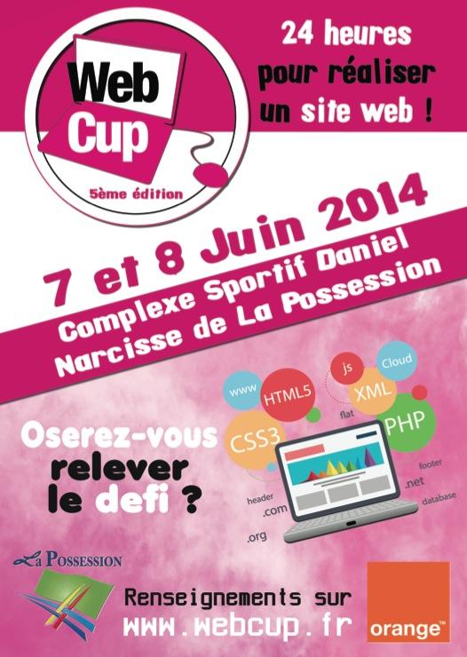 Affiche WebCup 2014