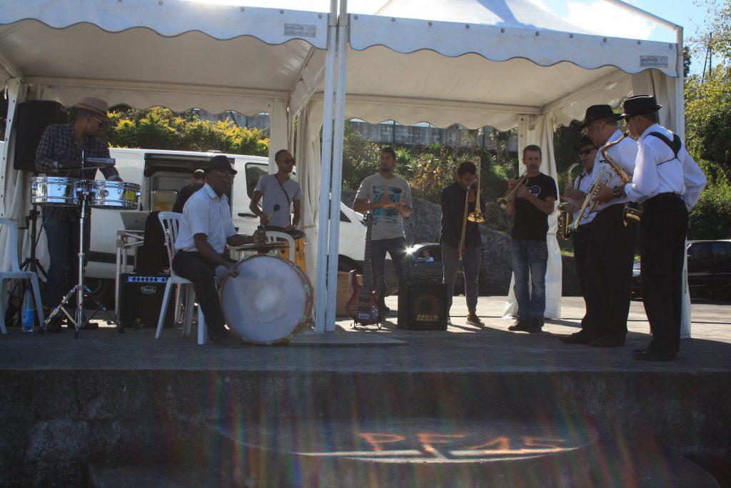 Aster Prod et le Waki Band au Plate St Leu (arrivée du Trail)