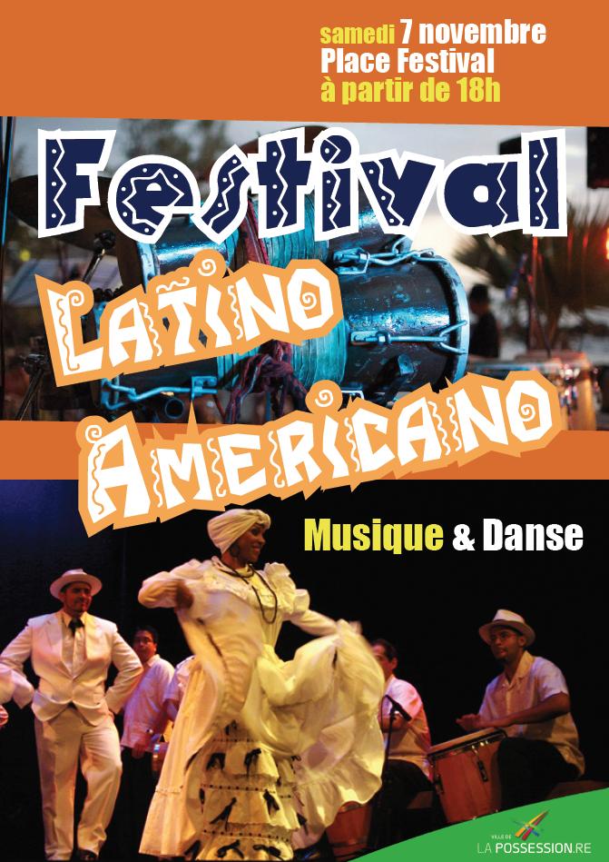 affiche festival latino