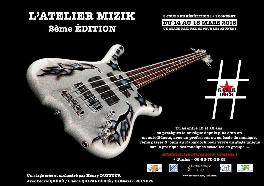 L'ATELIER MIZIK (2ème édition)