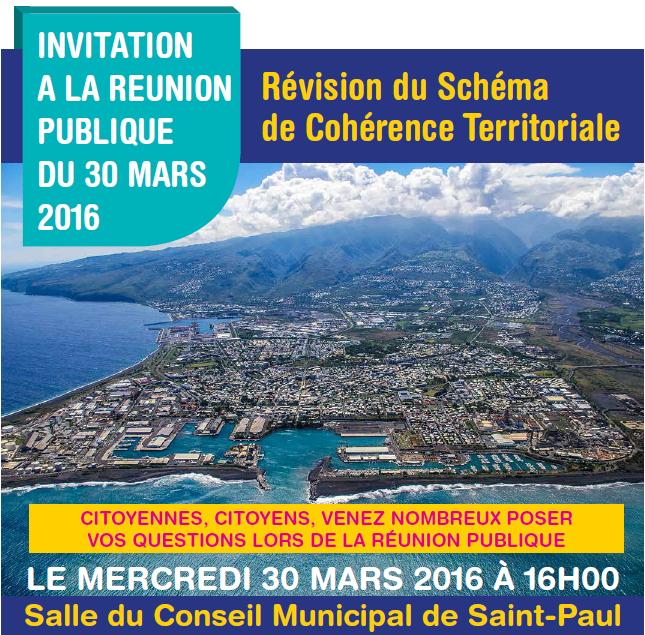 invitation réunion publique SCOT