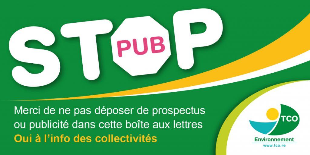 Non-respect du Stop-Pub