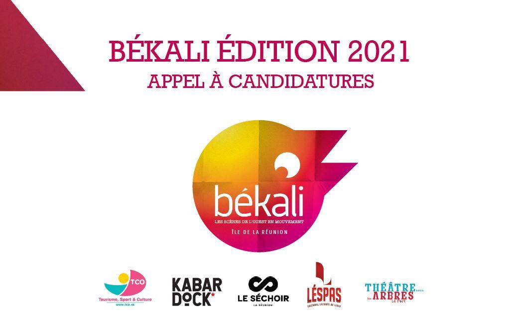 Appel à candidatures Békali - édition 2021