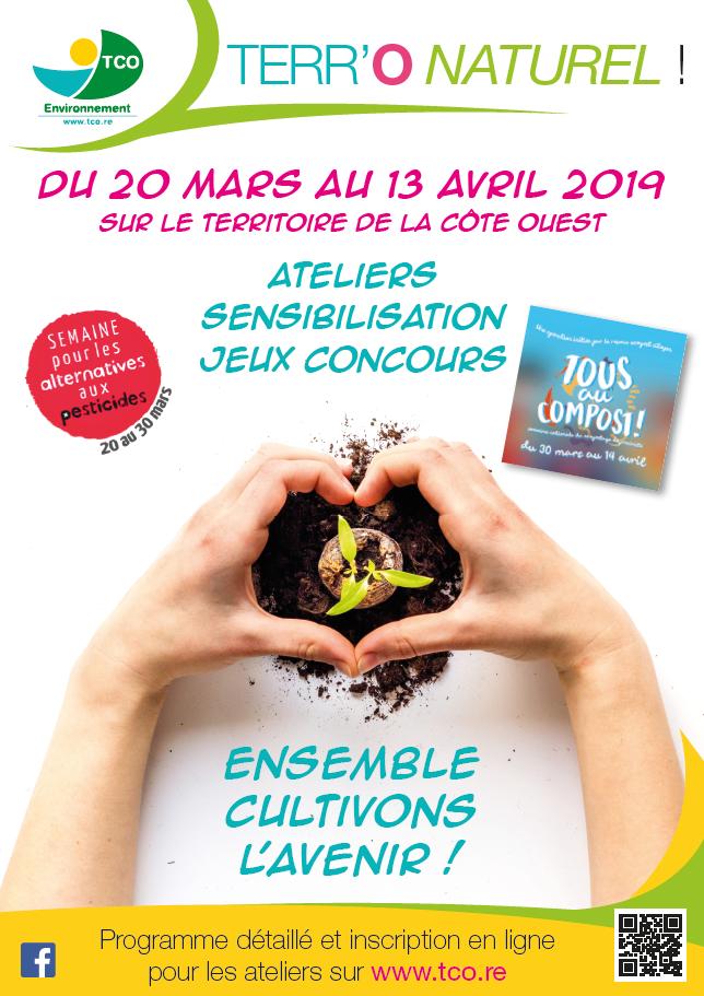 """2e édition de l'opération """"Terr'O Naturel !"""" du 20 mars au 13 avril !"""
