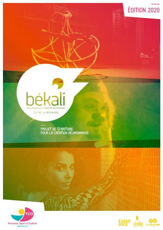 Plaquette de présentation Békali édition 2020